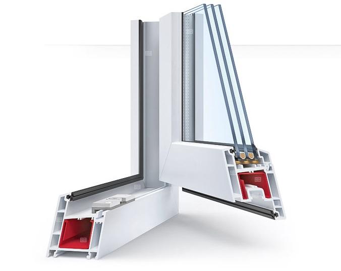 Изображение профиля окна REHAU BLITZ NEW